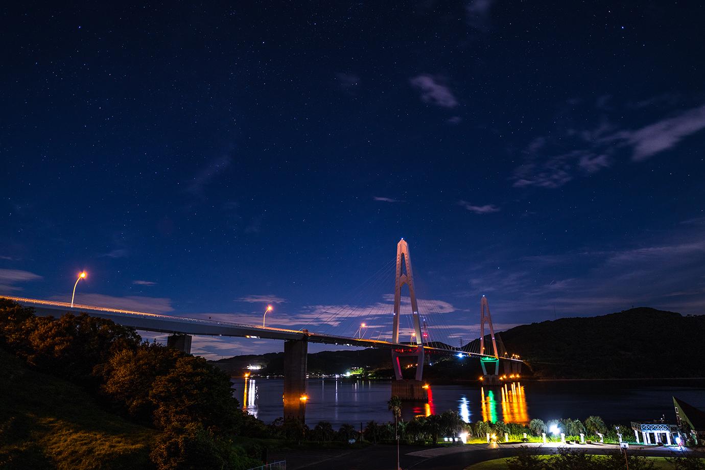 大島大橋のある風景